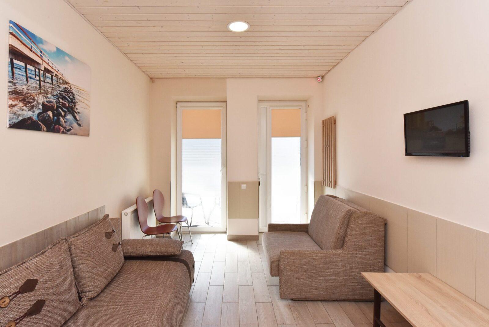 Trivietis 102 numeris, su terasa | poilsis-palangoje.com