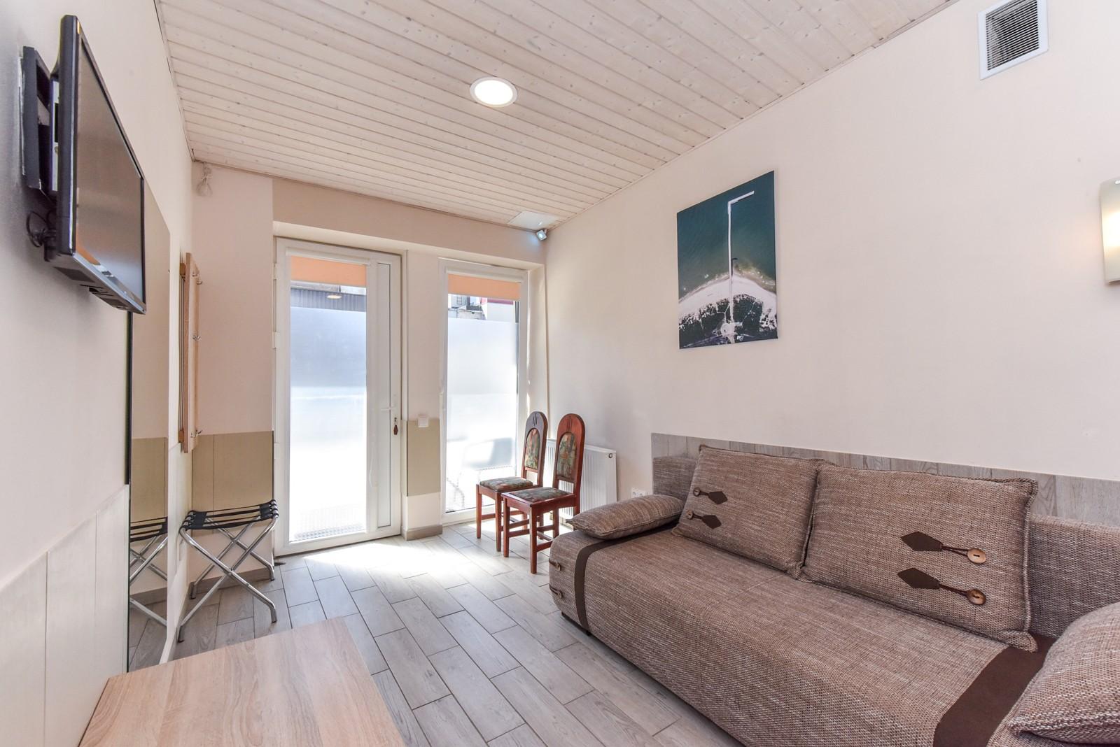 Dvivietis 103 numeris, su terasa | poilsis-palangoje.com