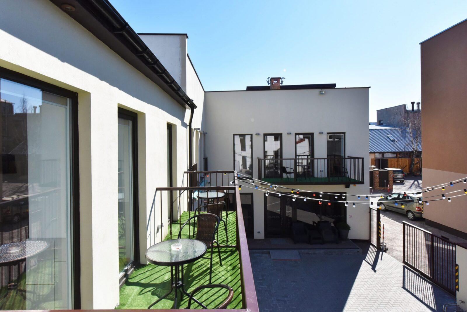 Dvivietis 208 numeris, su balkonu | poilsis-palangoje.com