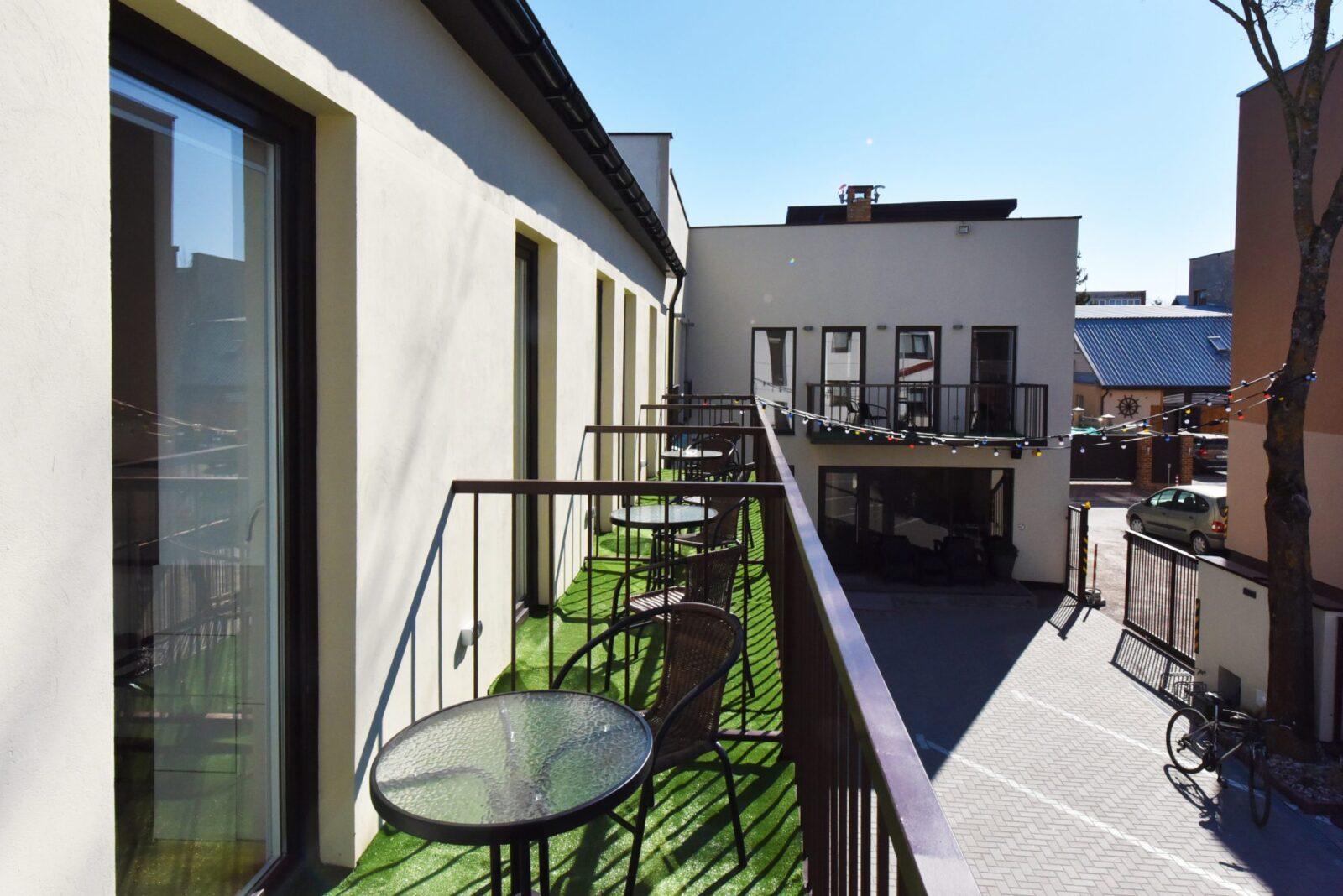 Trivietis 210 numeris, su balkonu | poilsis-palangoje.com