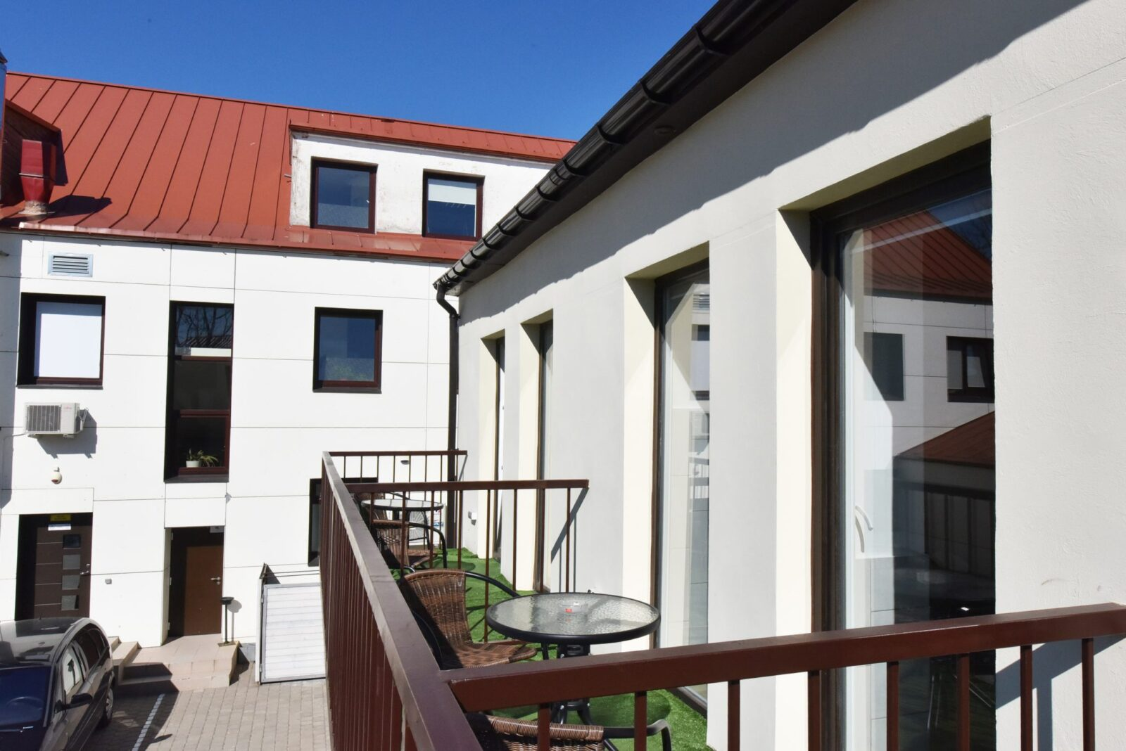 Trivietis 212 numeris, su balkonu | poilsis-palangoje.com